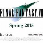 PS4『FF7』移植版が2015年春に発売