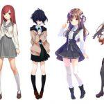 【画像】秋元康総合プロデュース二次元アイドル、8人全員のビジュアル公開