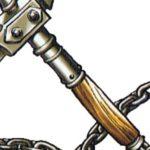 剣「エクスカリバーです」槍「グングニルです」ハンマー「ミョルニルです」鎖鎌「うっ……」